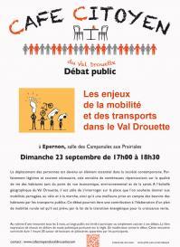 Mobilite affiche debat 1